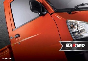 Product Brochure - Mahindra & Mahindra