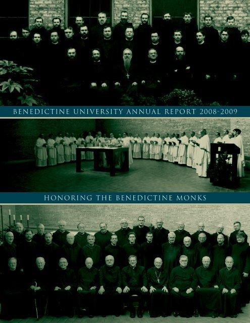 benedictine university annual report 2008-2009 honoring the