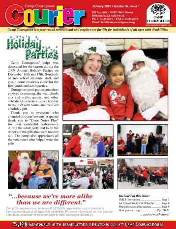 Holiday Parties - Camp Courageous