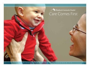 Care Comes First - Monadnock Community Hospital