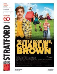 you're a good man, Charlie brown - Stratford Festival