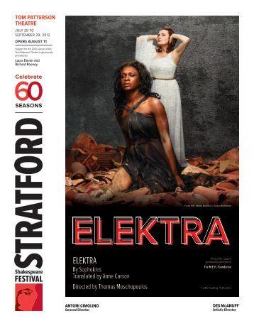 ELEKTRA - Stratford Festival
