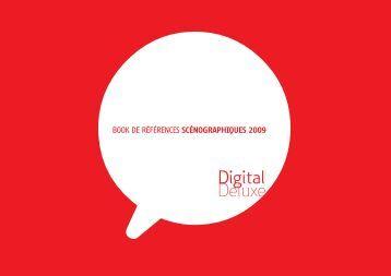 BOOK DE RÉFÉRENCES SCÉNOGRAPHIQUES - Digital Deluxe
