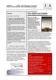 Vom Objekt zum Subjekt - Universität Klagenfurt
