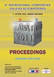 international conference on lead-acid batteries labat'2011