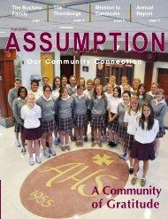 Assumption Magazine Fall 2009 - Assumption High School