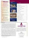 Assumption Magazine Fall 2009 - Assumption High School - Page 2