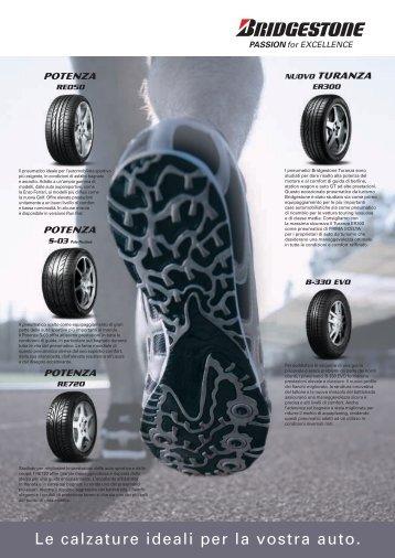 Le calzature ideali per la vostra auto.