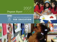 Program Report - Chicago Foundation for Education Lesson Plans
