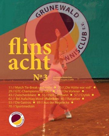 Ausgabe Nr. 3, Dezember 2009 - Grunewald Tennisclub eV