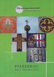 Aktueller Pfarrbrief (PDF) - Katholische Kirche Immenstadt
