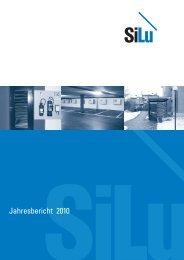 Jahresbericht 2010 - Baugenossenschaft SILU