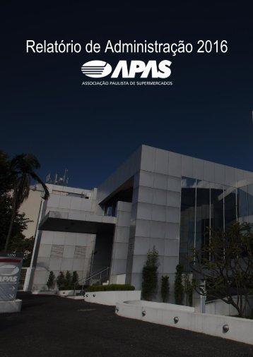 Relatório de Administração APAS 2016