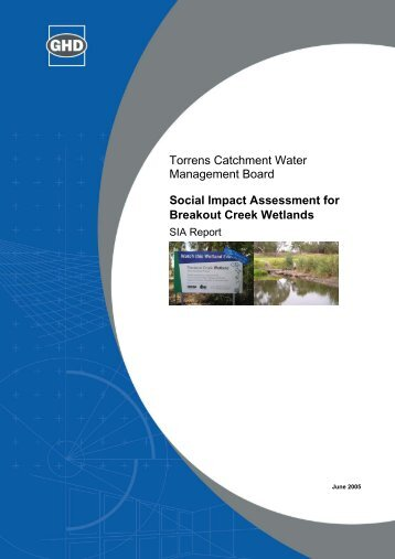 Social Impact Assessment for Breakout Creek Wetlands