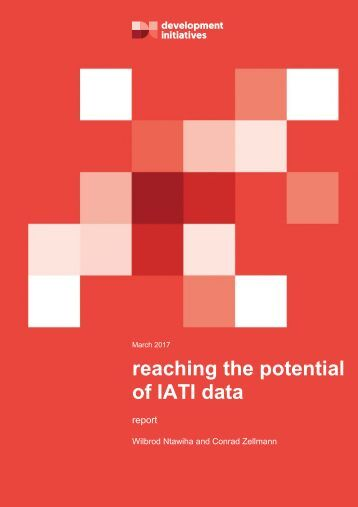reaching the potential of IATI data