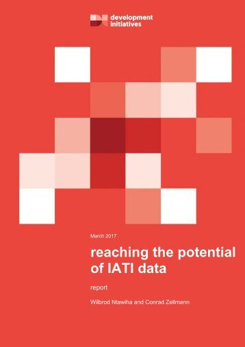 reaching the potential of IATI data
