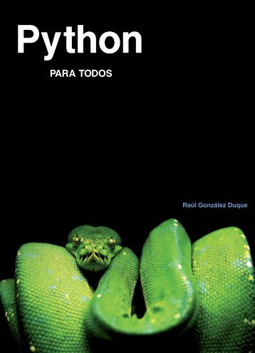 Python para todos (LIBRO)