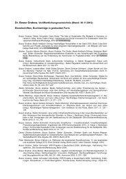 Dr. Busso Grabow, Veröffentlichungsverzeichnis (Stand: 30.11 ... - Difu