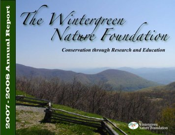 The Wintergreen Nature Foundation