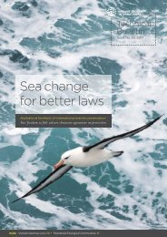 Sea change for better laws