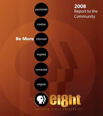 Report to the Community Be More - Eight, Arizona PBS