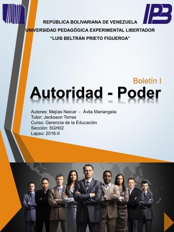 REVISTA DIGITAL AUTORIDAD Y PODER