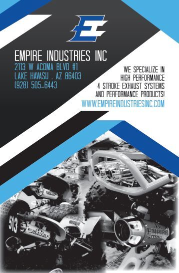 Empire Catalog - Front Cover