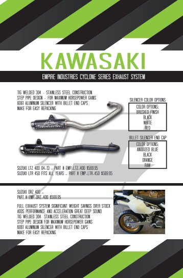 Empire Catalog - kawasaki pg 1