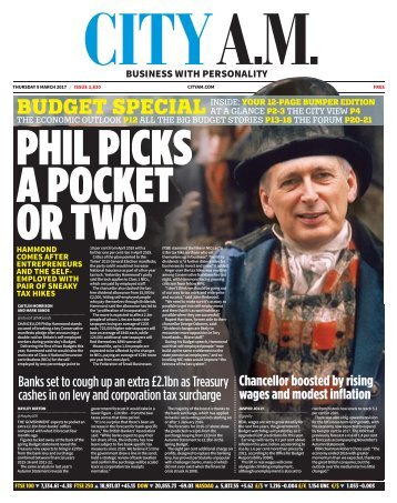 PHIL PICKS A POCKET OR TWO