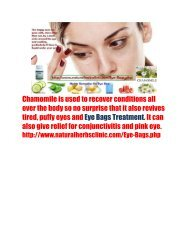 Eye Bags Treatment