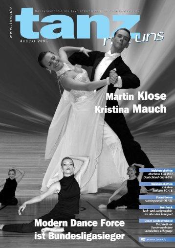 Martin Klose Kristina Mauch Modern Dance Force ist - DTV