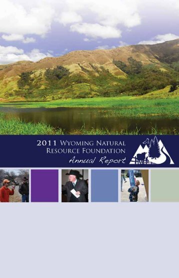2010-11 Annual Report - Wyoming Association of Conservation ...