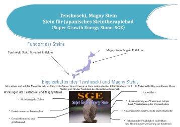 Tenshoseki, Magny Stein
