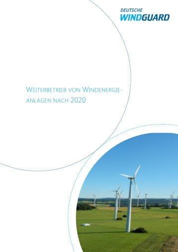 Weiterbetrieb von WEA nach 2020