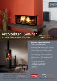Minergie in Kombination mit Wohnraumfeuerungen - Markus Rüegg