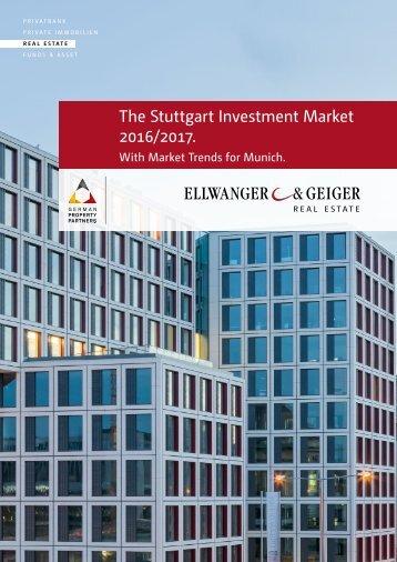 Stuttgart Investment Market 2016/2017