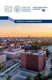 Leflet postgraduate studies - Polish