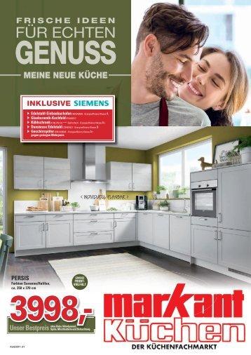 Markant Küchen - der Küchenfachmarkt - meine neue Küche: Frische Ideen für echten Genuss