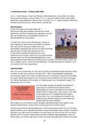 Festschrift Handball Jugend - TB Assenheim