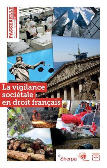 La vigilance sociétale en droit français