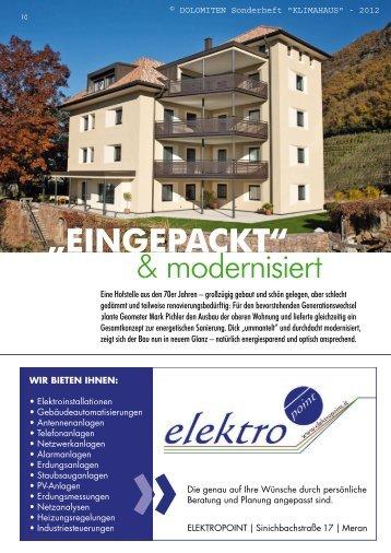"""EINGEPACKT"" & modernisiert - EWS Ingenieure"
