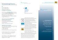 Innovative Projekte in der Seniorenarbeit - AfA
