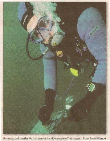 Für die Kunst geht' 5 unter Wasser - Markus Asmus