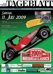 Zeitplan - Classic Club Niederelbe eV