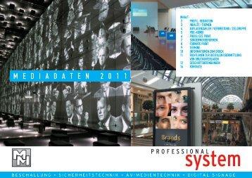 mediadaten@professional-system.de - MM-Musik-Media-Verlag