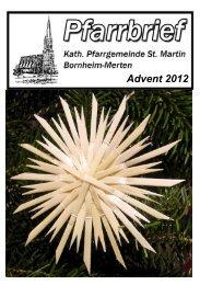 Advent 2012 - Merten-Mooses