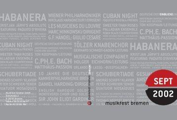EINBLICKE - Arp Schnitger Festival