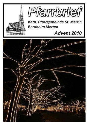 Advent 2010 - Merten-Mooses