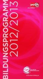 Bildungsprogramm der Wiener SPÖ 2012/13 (pdf) - Wiener Bildung