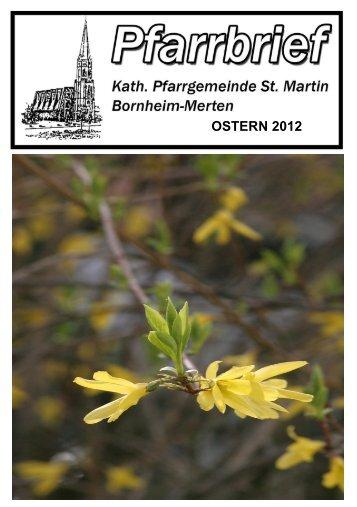OSTERN 2012 - Merten-Mooses